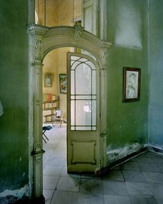 Historical architecture in Cuba photo's by Michael Eastman. Cuba's architecture is  Spanish Colonial , steps back in time as nothing has been altered since the Cuban Revolution. It has an old world feel with crumbling plaster walls in an array of amazing colors.