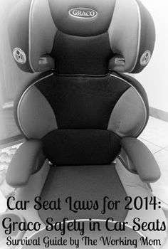 Car Seat Laws for 2014: Graco AFFIX Booster Seat Leads in Car Seat Safety