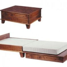 coffee-table-bed...I love multi purpose pieces!                                                                                                                                                                                 More