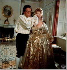 Sidney James and Joan Sims in Carry On Don't Lose Your Head. 1966