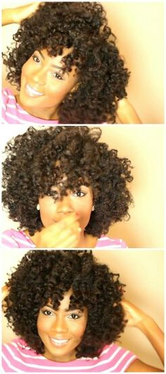 One day my bantu knots will come out as gorgeous as Amber's. Love this look! @Naturallygg