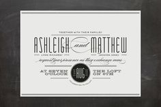 Twine Wedding Invitations by Palm Papers at minted.com