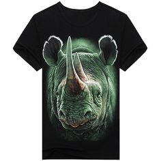 Mens Novelty Cotton T Shirt Lips Crew Neck Summer T-shirt Black
