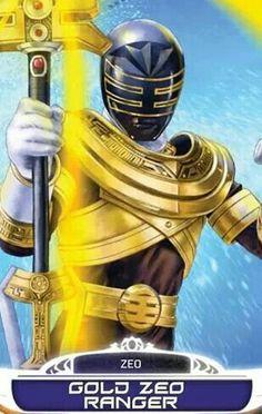 Gold Zeo Power Ranger