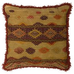 I pinned this Vintage Cicim Kilim Large Pillow IV from the Asia Minor event at Joss and Main!