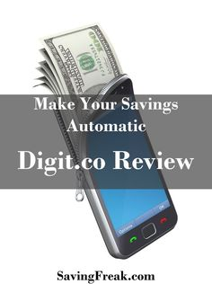 Digit is a new way to make sure you are saving on a regular basis. Check out this Digit.co review to get all the details on how you can start saving.