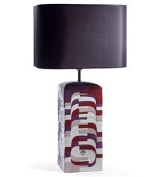 #Lladro 09064 ESTRATOS - LARGE LAMP (BURGUNDY) - CE #porcelain #lamp #light #homedecor #decoration http://lladro.stores.yahoo.net/0eslalabce.html