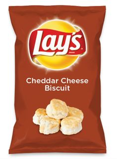 Wouldn't Cheddar Cheese Biscuit be yummy as a chip? Lay's Do Us A Flavor is back, and the search is on for the yummiest flavor idea. Create a flavor, choose a chip and you could win $1 million! https://www.dousaflavor.com See Rules.