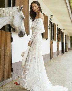 Vestido blanco de novia historia