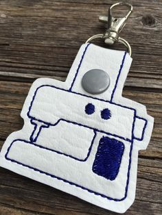 A personal favorite from my Etsy shop https://www.etsy.com/listing/233874818/seamstress-bag-charm-modern-sewing