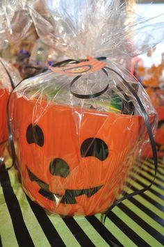 Pumpkin Pail Party Favor