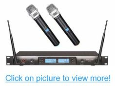GTD Audio G-622H 200 Channel UHF Professional Wireless microphone Mic System #GTD #Audio #G_622H #Channel #UHF #Professional #Wireless #microphone #Mic #System
