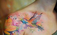 Tatuagens de Beija-Flor 12