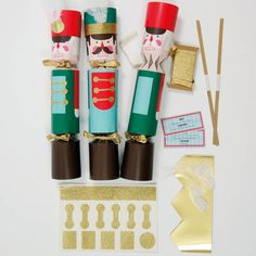 Diy Nutcracker Christmas Cracker Kit For 10