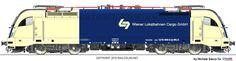 RAILCOLOR.NET - modern locomotive power #Siemens #Eurosprinter #locomotive #trains #railways #railcolor http://www.railcolor.net #wlc