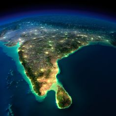 These unbelievable space images of Earth at night are a bunch of beautiful fakes Satellite Photos Of Earth, Earth Photos, Earth Pictures From Space, Indian Flag Wallpaper, Of Wallpaper, Sistema Solar, Real Photo Of Earth, Planet Earth From Space, Earth View From Space