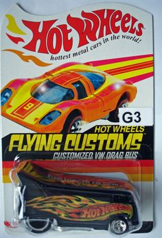 Hot Wheels Red Line Club Flying Customs Customized VW Drag Bus