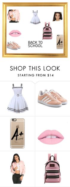 """""""School Time"""" by anotherstudent on Polyvore featuring adidas Originals, Casetify and Marc Jacobs"""