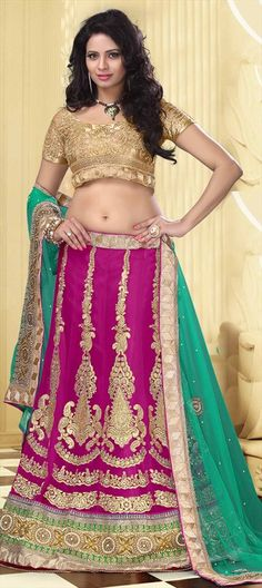 Want more pink?? Never get bored of this pretty color. Order now at flat 10% off.  #lehenga #bride #indianwedding