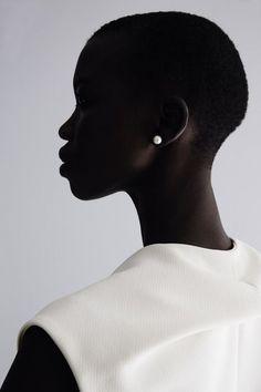 """""""Tiffany's I"""" — Nykhor Paul photographed by Melanie Lyon & Ramon Escobosa"""