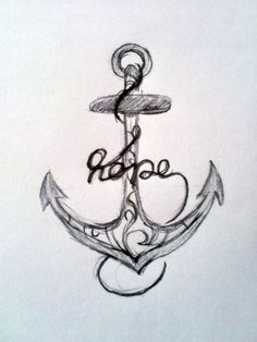 Hope is like an anchor, it sinks to the very depths of your soul and keeps you in place.