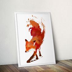 Vulpes Vulpes Fox Art Print