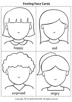 Preschool Activity World :): My Emotions, Emotions Preschool, Teaching Emotions, Emotions Activities, Kids Learning Activities, Feelings And Emotions, Toddler Learning, Preschool Activities, Social Emotional Activities, English Worksheets For Kids