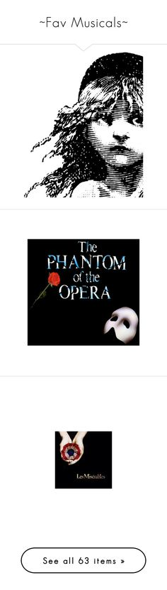 """""""~Fav Musicals~"""" by tashaafterthedentist ❤ liked on Polyvore featuring backgrounds, faces, quotes, grey, skirts, women's clothing, masks, beauty products, beauty accessories and bags & cases"""