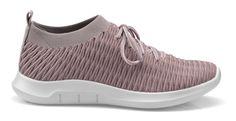 Twist shoe in Mauve, Hit the ground running with our game-changing sporty shoe Twist that's designed to work around the clock, so you don't have to. Shoe Crafts, Athleisure Fashion, Hot Shoes, Travel Style, Things That Bounce, Slip On, Textiles, Sporty, Pairs