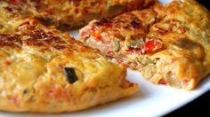 Éxito asegurado! Cocina Tortilla de samfaina con esta receta paso a paso y sorprende a tu familia. Recetas fáciles para cocinar rico y variado con poco dinero.