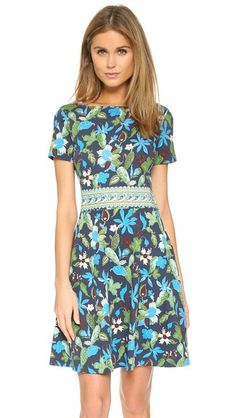 The Tory Burch Flare Dress is calling for warm weather!