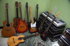 my guitar collections