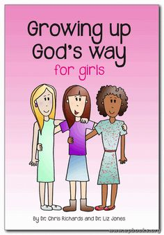 Growing up God's Way for Girls by Dr. Chris Richards and Dr. Liz Jones from EP Books is a book about puberty for girls ages This is a valuable resource for parents of tweens / pre-teens. Books To Read, My Books, Raising Girls, Thing 1, Book Girl, Parenting Hacks, Parenting Plan, Parenting Toddlers, The Book
