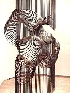 Sculpture, Espace, Ligne de contour, Répétition