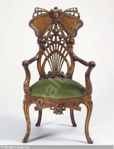 art nouveau chair - Google Search
