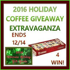 Extravaganza TRC Premium Coffee Gift Set Giveaway Ends 12/14