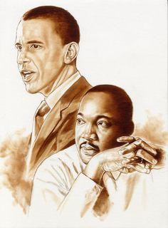 President Obama & Dr. King