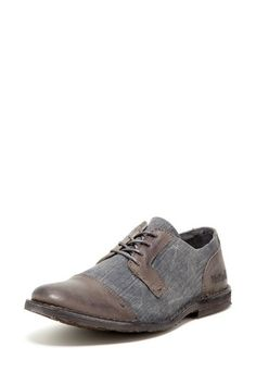 Citecool Derby Lace Shoe by Kickers on @HauteLook...leather & canvas ...would be a nice shoe for summer