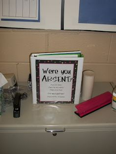 Classroom Organization: Managing Student Absences. Great ...
