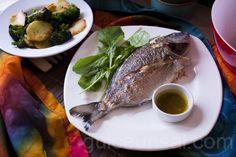 Tavada Karagöz Balığı