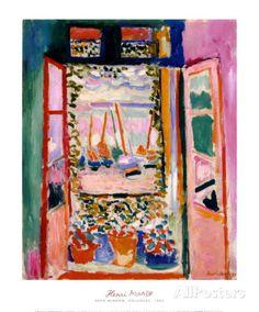 Open raam, Collioure, 1905 Schilderijen van Henri Matisse bij AllPosters.nl
