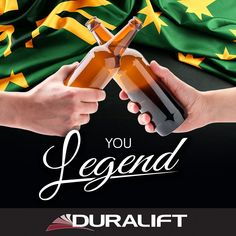 You Legend! We hope you enjoy a cold one this Australia Day! 🍻 Duralift will be closed for the public holiday. #AustraliaDay #AussieLegend #scissorlift #forklift #accessequipment Public Holidays, Australia Day, Cold, Australia Day Date