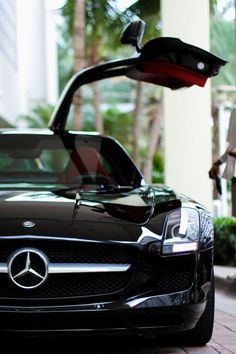 The Mercedes SLS Gullwing was unveiled at the Frankfurt Motor Show in 2009 and went into production in It is a two door grand tourer that has a distinctive wing style door opening. Maserati, Bugatti, Lamborghini, Ferrari Car, Audi, Porsche, Mercedes Benz Sls, Benz Car, Carl Benz