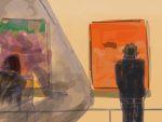 Danny Mooney 'Richard Diebenkorn, RA, 21/4/2015' iPad Painting #APAD