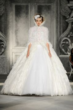 Chanel Haute Couture 2012 - I'm a bird now...