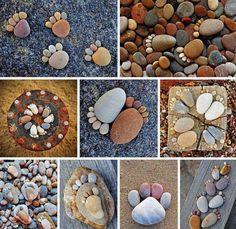Pebble Feet Craft... so cute