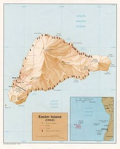 STAR GATES- Earth Secret 28- Ancient landing guide? South Pacific Ocean, Easter Island- Chile