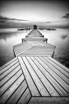 Trendy photography black and white nature paths Black White Photos, Black And White Photography, White Art, Landscape Arquitecture, Line Photography, Amazing Photography, Boat Dock, Pathways, Belle Photo