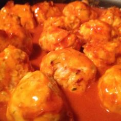Clean Eating Cheesy Buffalo Chicken Balls | Farr Cleaner Life