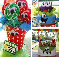 Monster Birthday Party with LOTS of GREAT IDEAS via Karas Party Ideas | KarasPartyIdeas.com #monster #boy #girl #birthday #party #ideas by ava